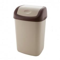 Емкость для мусора 14л с плавающей крышкой /ПБ/