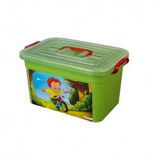 Ящик для игрушек 355*230*190мм Радуга 10л /ПБ/