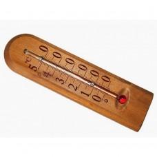 Термометр комнатный деревянный полукруглый (-10...+50) уп. блистер /1ТЗ/