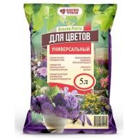 Почвогрунт Азбука роста Для цветов и комнатных растений 5л /ФГ/