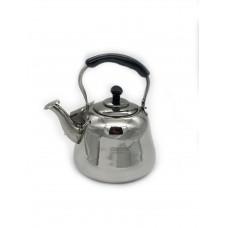 Чайник заварочный нерж сталь со свистком 1500мл /Vertex/