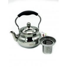 Чайник заварочный нерж сталь 1500мл /Vertex/