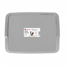 Подставка под миску для животных Lucky pet 33*26см серый /БП/