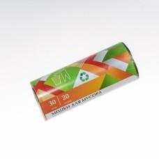 Мешки для мусора 20л/30шт 6мкм ПНД /EuroHouse/