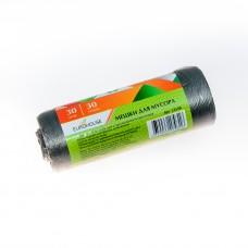 Мешки для мусора 30л/30шт 6мкм ПНД /EuroHouse/