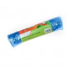 Мешки для мусора 60л/20шт с завязками ПНД /EuroHouse/