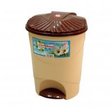Емкость для мусора 12л с педалью (контейнер) /МП/