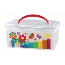 Коробка универсальная с ручкой
