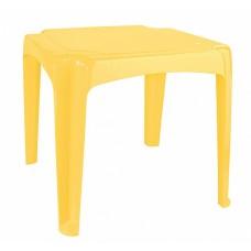 Стол детский 520*520*475мм желтый /БП/