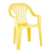 Стул детский жёлтый /БП/