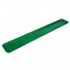 Поддон для ящика балконного 80см зеленый /ING/