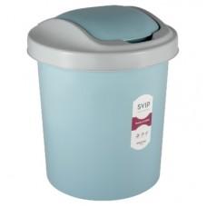 Емкость для мусора 12л с плав.крыш. Ориджинал /SVIP/