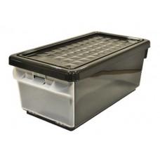Ящик для хранения с боковой дверцей 12л венге /ПЦ//