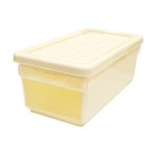 Ящик для хранения с боковой дверцей 12л слоновая кость /ПЦ//
