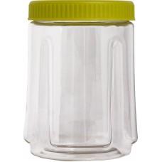 Ёмкость д/сыпучих продуктов кругл. Bono 0,75л оливковый /ПЦ/