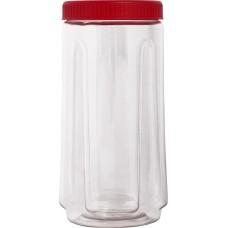 Ёмкость д/сыпучих продуктов кругл. Bono 1,1л томат /ПЦ/