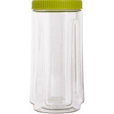 Ёмкость д/сыпучих продуктов кругл. Bono 1,1л оливковый /ПЦ/