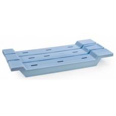Решётка на ванну пластм. голубой /Berossi/